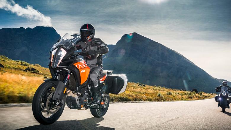 Adventurous motorbike riding: